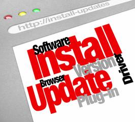 Install Software Program Updates Online Computer Downloads