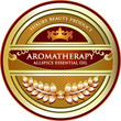 Aromatherapy - Allspice Essential Oil Label