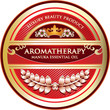 Aromatherapy - Manuka Flower Essential Oil Label