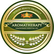 Aromatherapy - Lemongrass Essential Oil Label