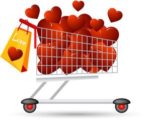 carrello San Valentino