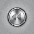 Vector round metal backward rewind knob