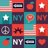 New York pattern - 61106319