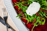 Young beet carpaccio