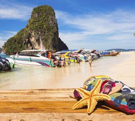 plage de Phra Nang, Krabi, Thaïlande