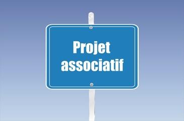 panneau projet associatif