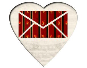 Weisses Herz - Mail