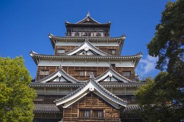 Hiroshima Castle. Japan