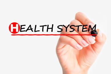 Health system problems