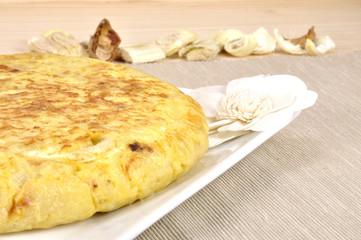 Tortilla de patatas perfil