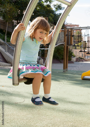 kid  in playground area