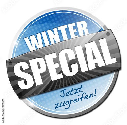 Winter Special! Button, Icon