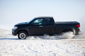 Truck winter ride