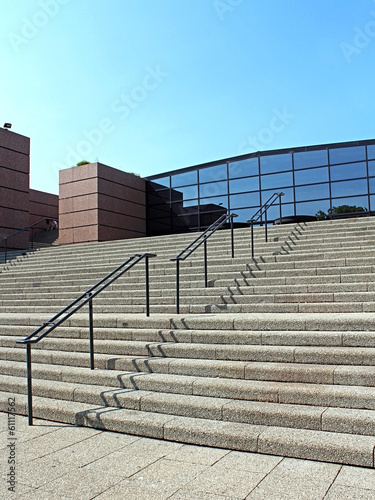 escalier du Palais des congrès de Montpellier
