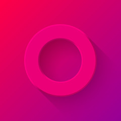 Magenta Abstract Technology Volume Button Template