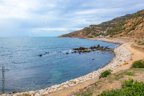 Leinwandbild Motiv Tunisian Coastline