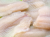 Tilapia fish fillets