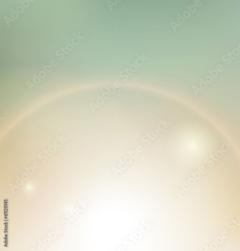 Vintage background, sunbeam