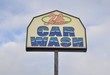 24 hour car wash sign