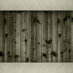 Wooden planks background template