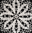 Black and white crochet background