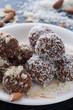 Almond/Coconut Cocoa Balls