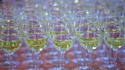 Several glasses