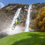 MTB & waterfall