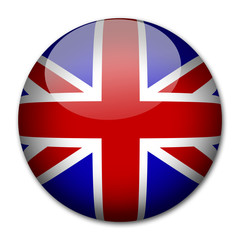 UK England Flagge Button