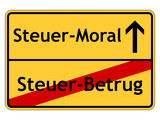 Steuer-Moral poster