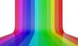 Regenbogen Farbwand 2