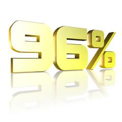 96 Prozent