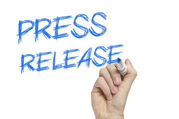 Press release news concept