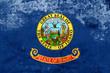 Grunge Idaho State Flag