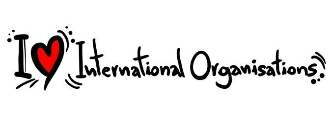 Organisations intenational love