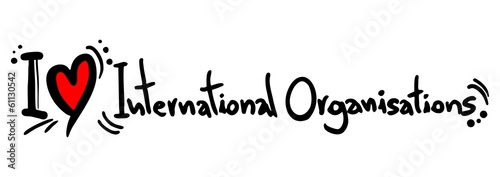 Organisations intenational love