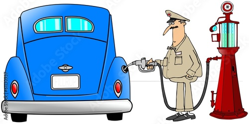 Gasoline fill-up