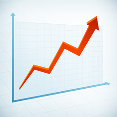 positive business graph arrow