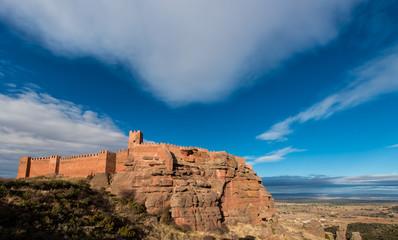 Castillo de Peracense. Teruel. España