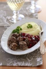 Swedish meatballs köttbullar