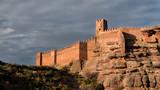 Naklejka Castillo de Peracense. Teruel. España