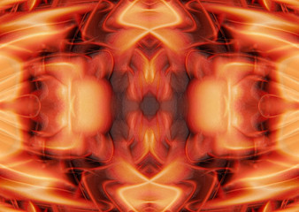 Abstract Orange Textured Background