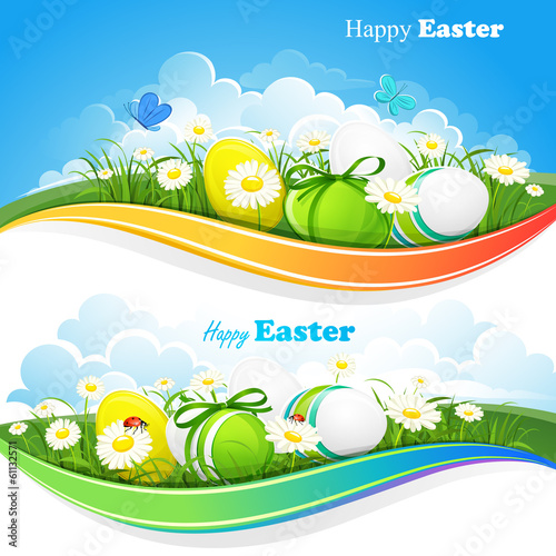 Easter colored backgrounds