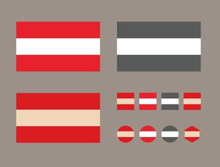 Austria. Vetor format