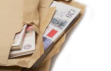 Cash in Brown Envelopes