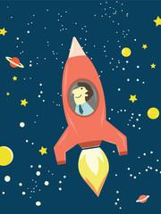Man rocket