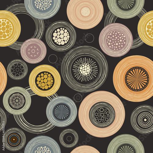 Seamless colorful pattern © Rouz