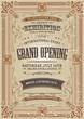 Vintage Invitation Background - 61133967