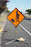 Road works ahead