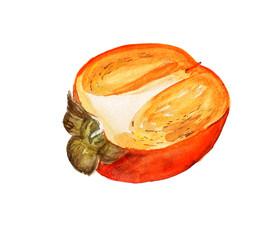 Half of date-plum